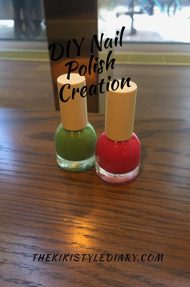 DIY Nail Polish Creation