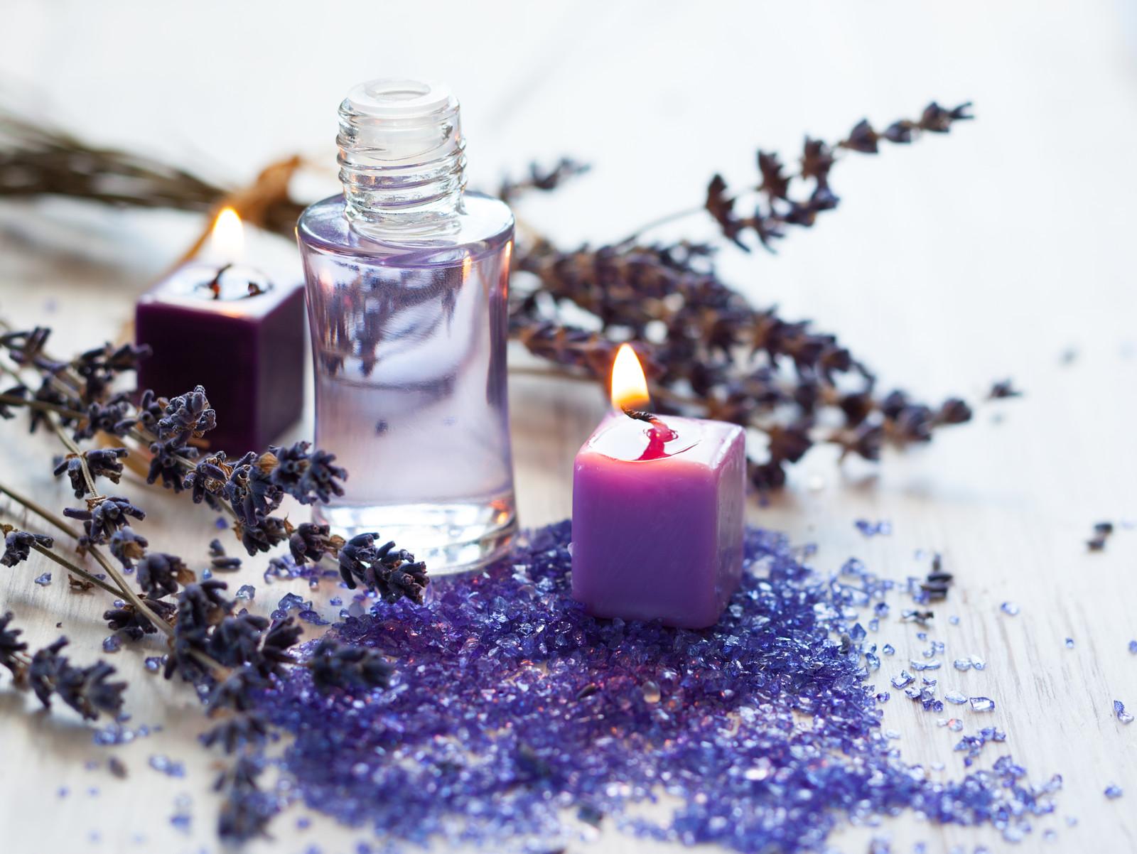 Lavender and Lemon Verbena Foot Soak