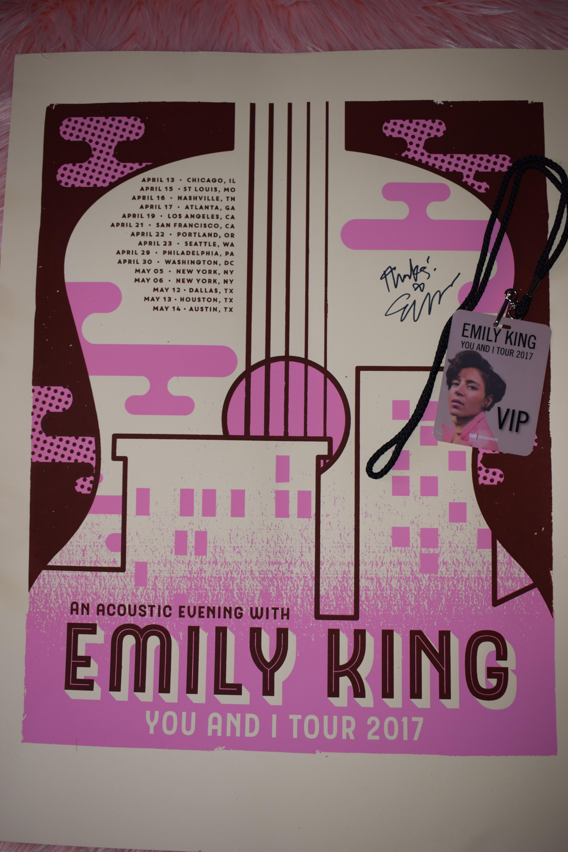 Emily King You and I Tour 2017 VIP