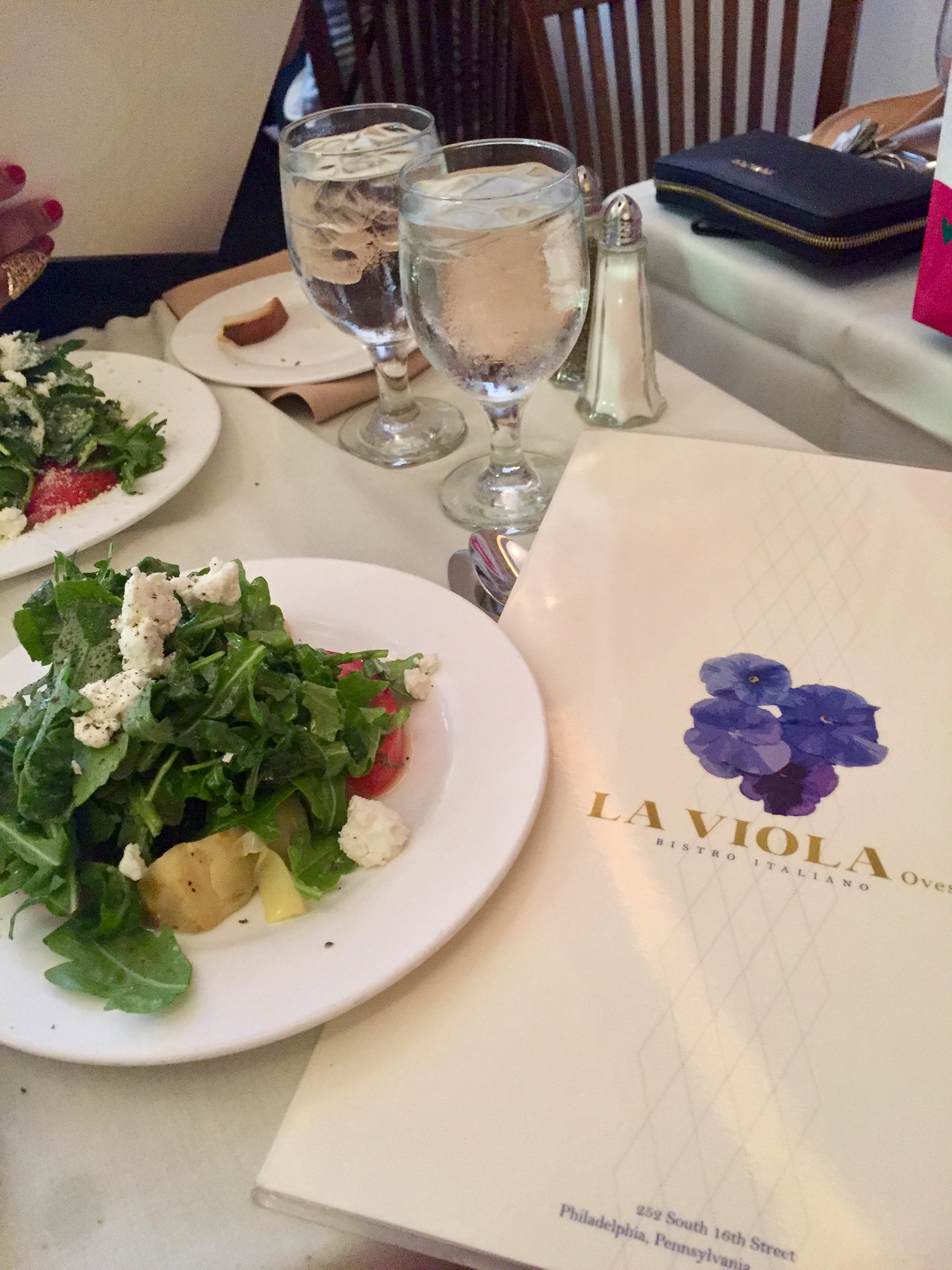 Birthday Dinner at La Viola Ovest Restaurant