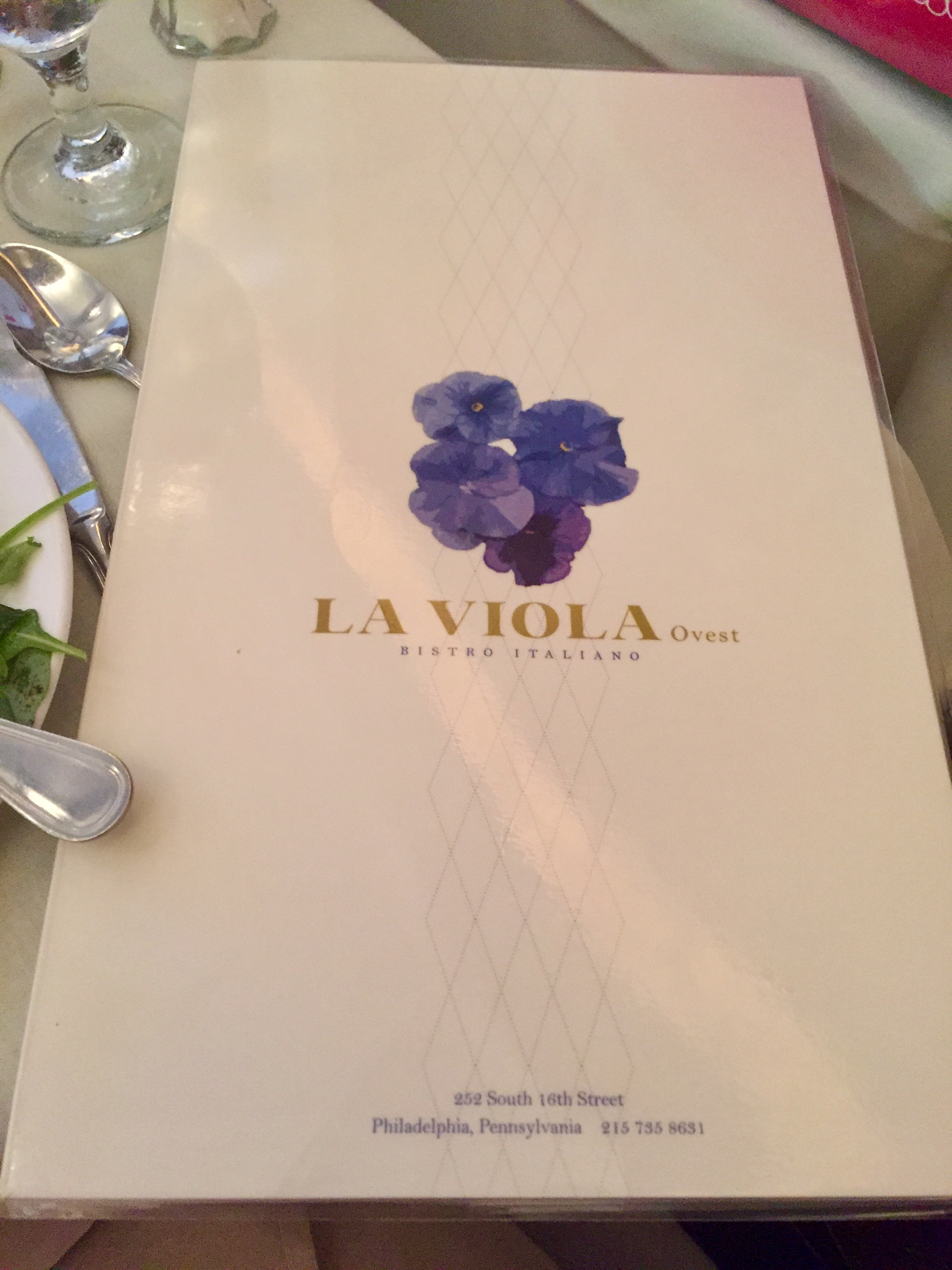 Birthday Dinner at La Viola Ovest Restaurant