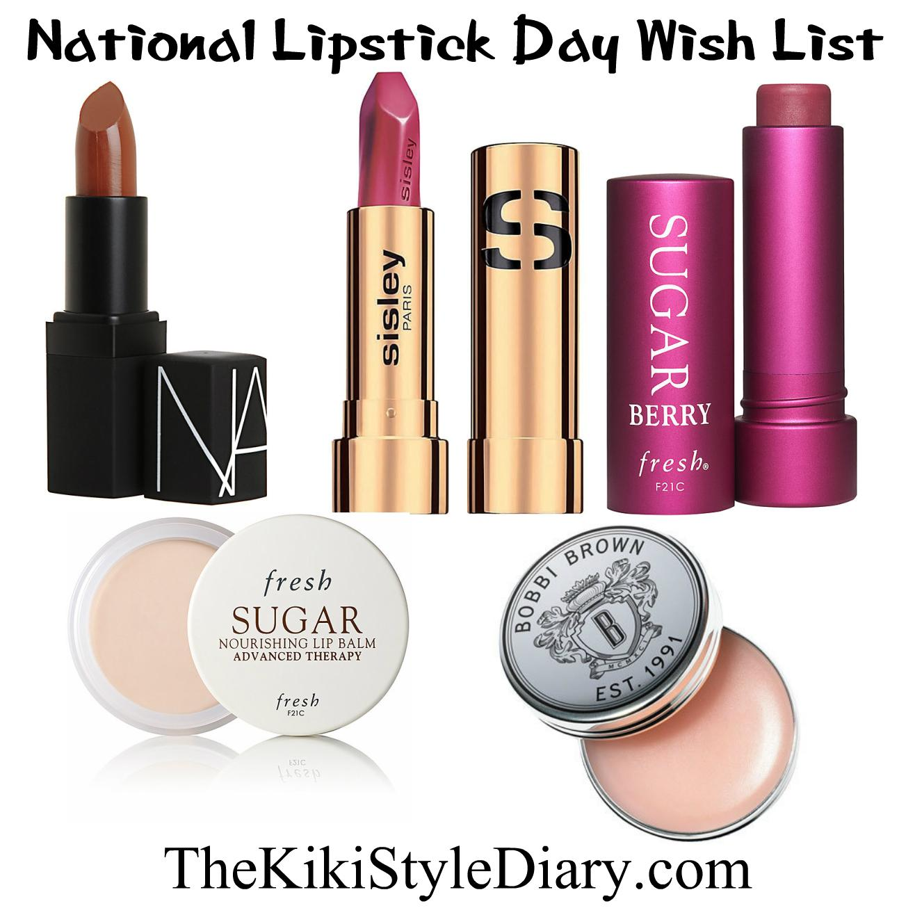 National Lipstick Day Wish List