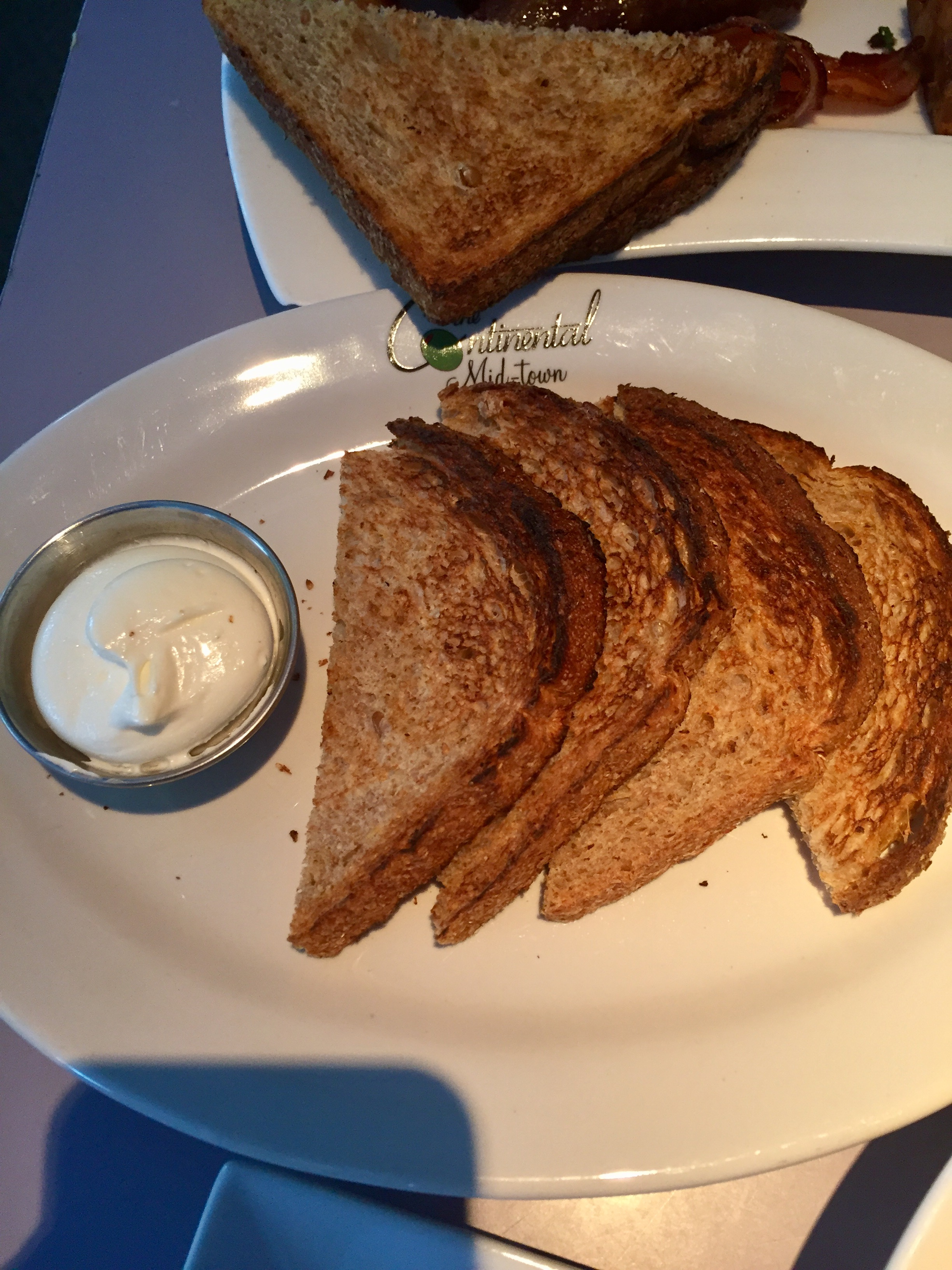 Wheat Toast with Butter