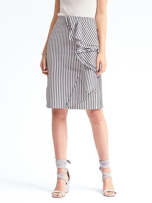 Banana Republic Ruffle Stripe Pencil Skirt.jpg
