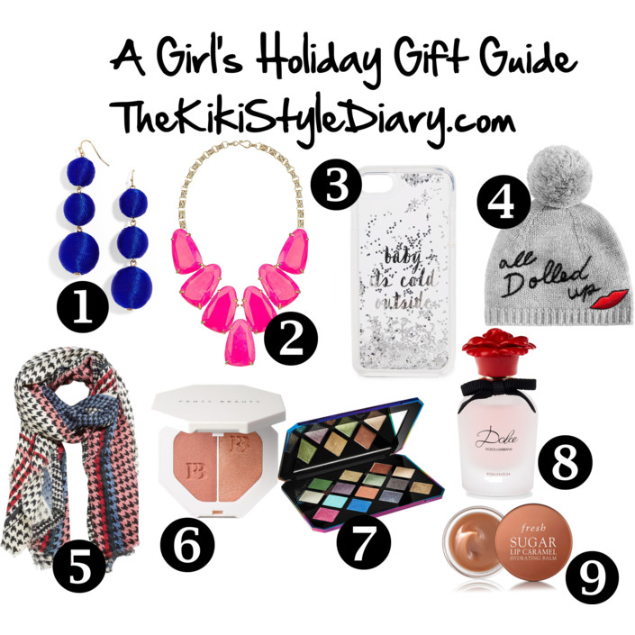 A Girl's Holiday Gift Guide