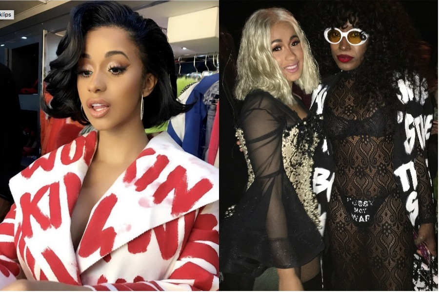Cardi B and Iris Bonner