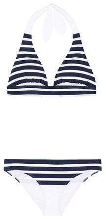 Dolce & Gabbana Striped Halter Bikini.jpg