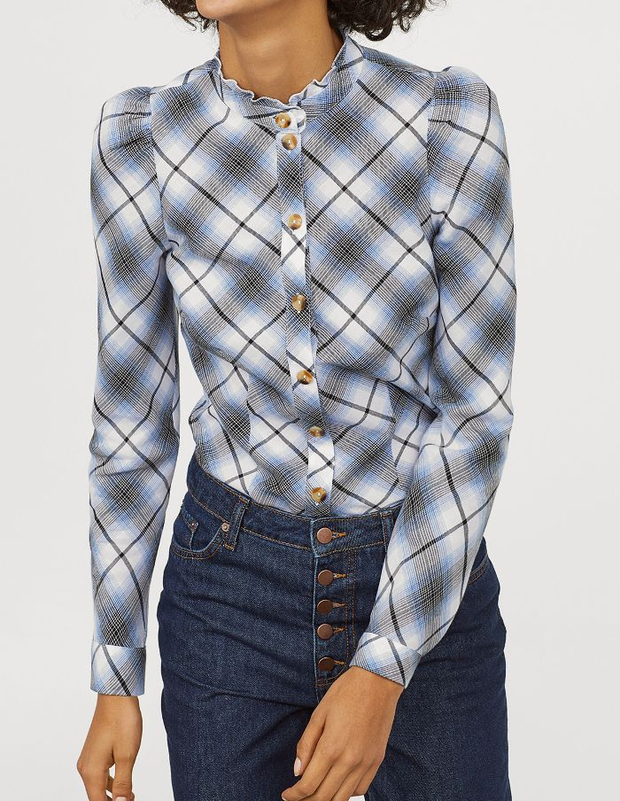 H&M Patterened Blouse