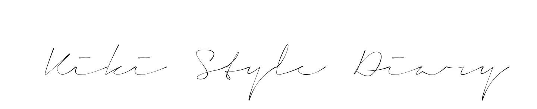 Kiki Style Diary
