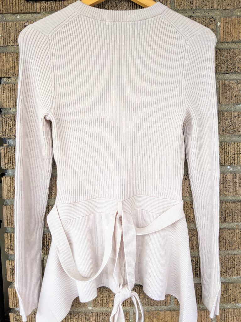 Phillip Lim Ribbed Top Back